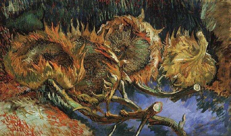 Sunflowers in Paris / Kröller-Müller Museum, Otterlo