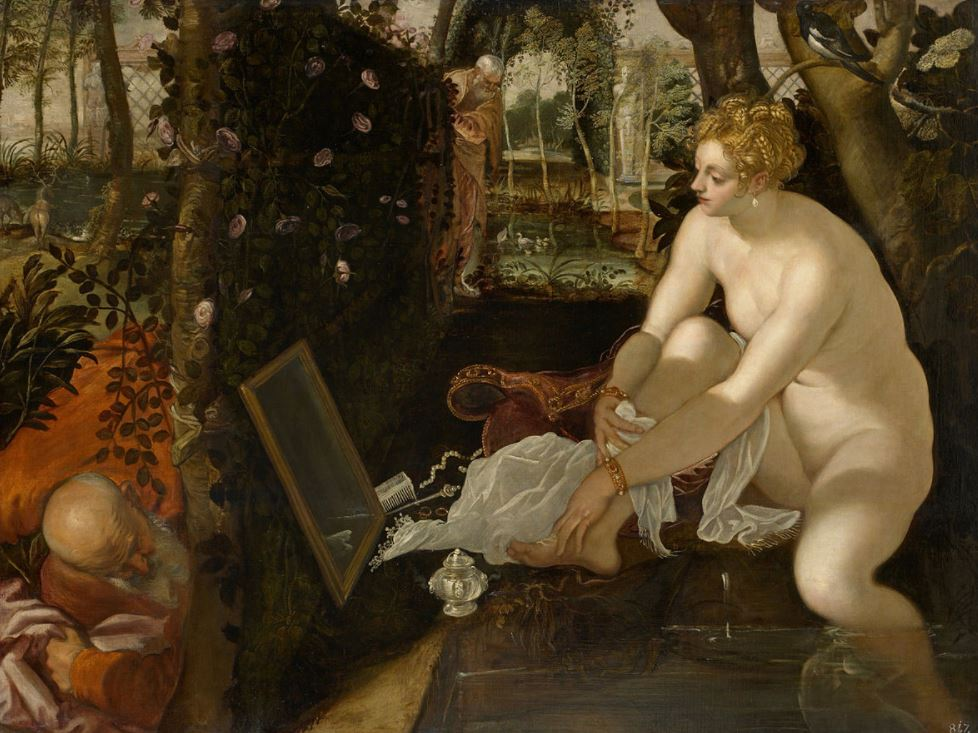 Susanna and the Elders tintoretto