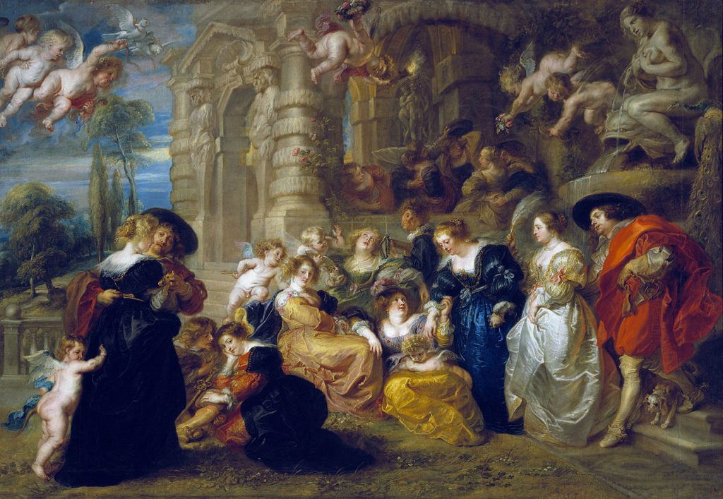The Garden Of Love By Rubens - Top 10 Facts