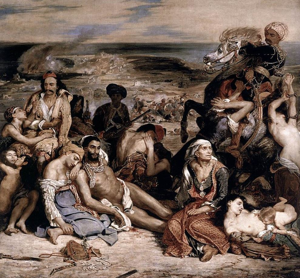 The Massacre at Chios full view