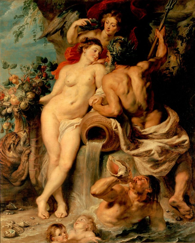 The Union of Earth and Water Rubens