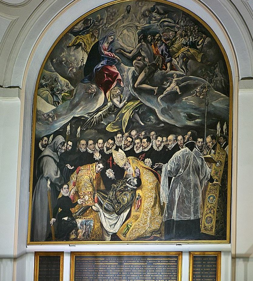 The burial of the count of Orgaz facts