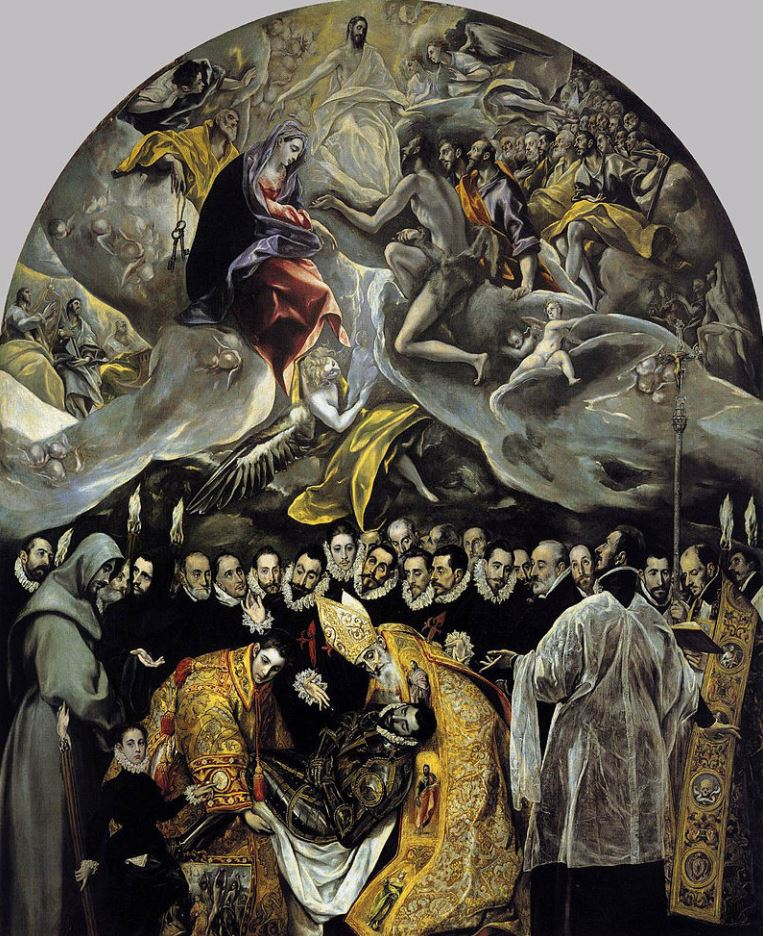 The burial of the count of orgaz size