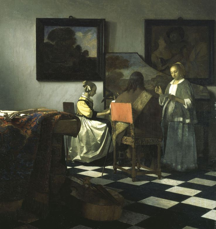 The concert by vermeer