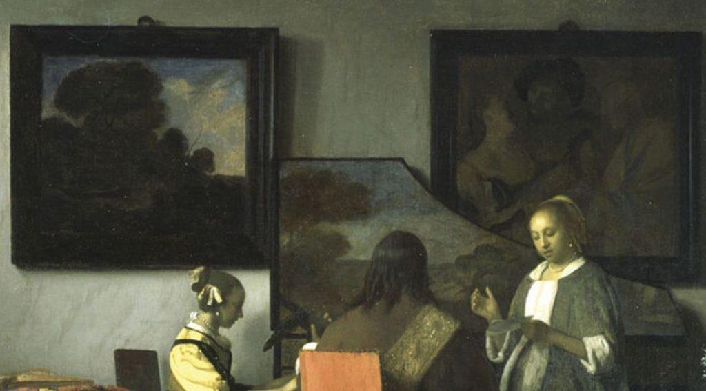 The concert vermeer upper section