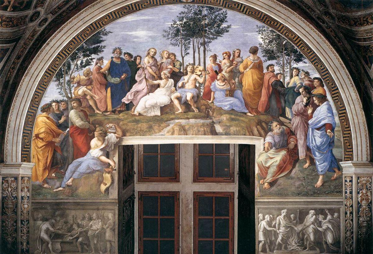 The Parnassus by Raphael Mount Parnassus