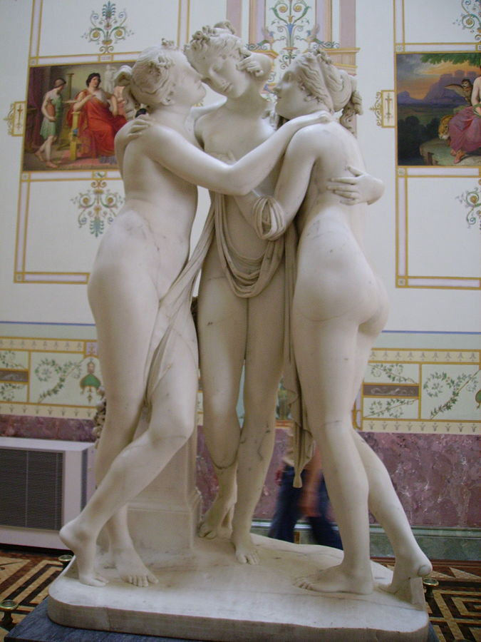 The Three Graces by Antonio Canova