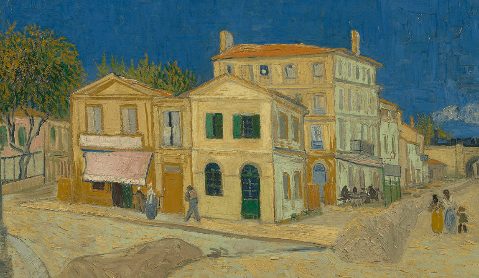 The Yellow House In Arles