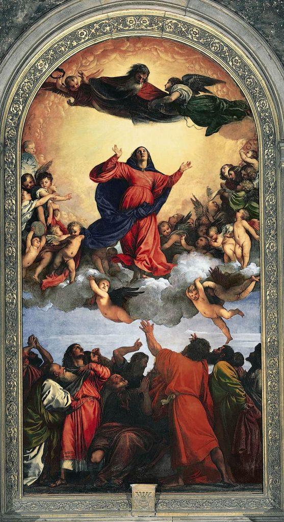Titian Assumption of the virgin