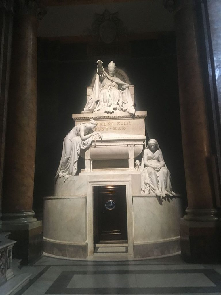 Tomb of Pope Clement XIV