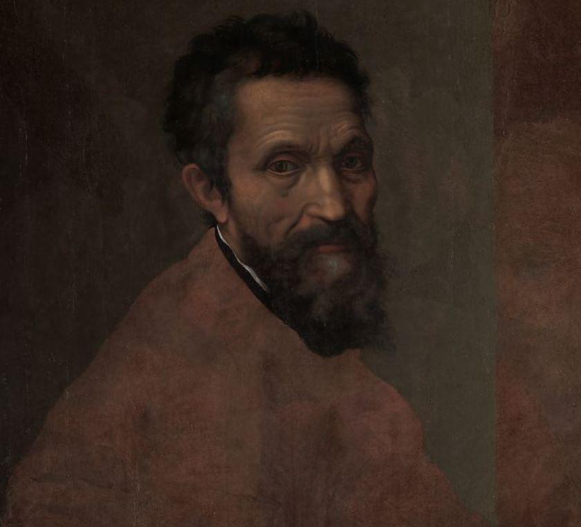 Unfinished portrait of Michelangelo