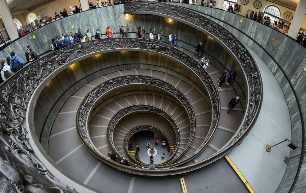 Vatican Museums exit