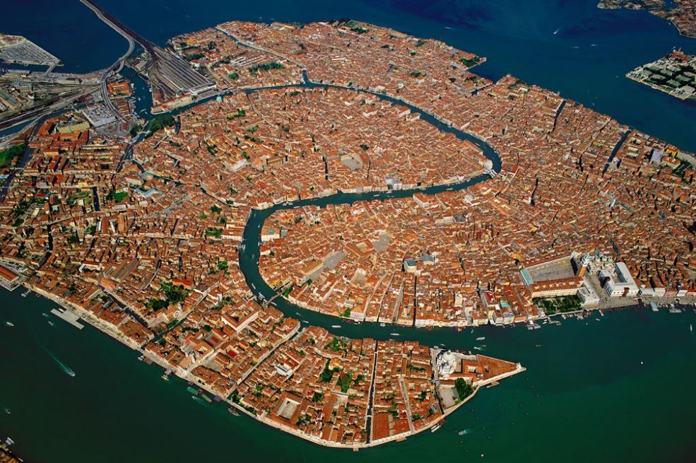 Venice Aerial view