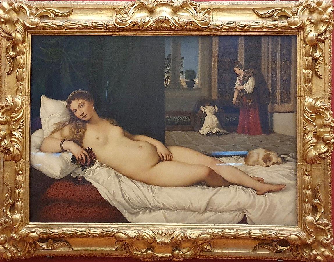 Venus of Urbino at the Uffizi Gallery