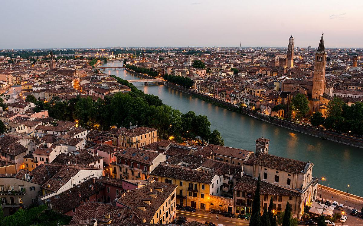 Paolo Veronese facts - View of Verona