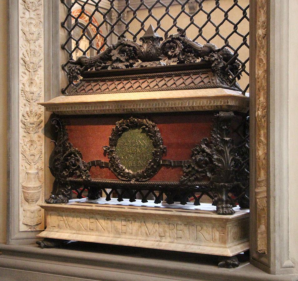 Piero and Giovanni de' Medici's tomb