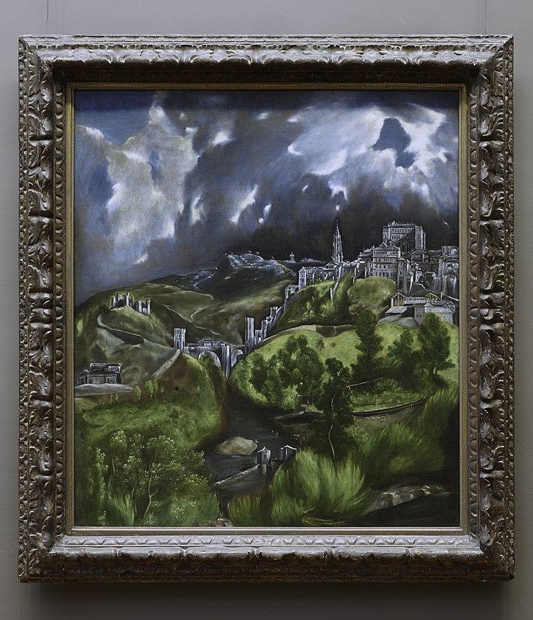 View of Toledo by EL Greco in MET Museum