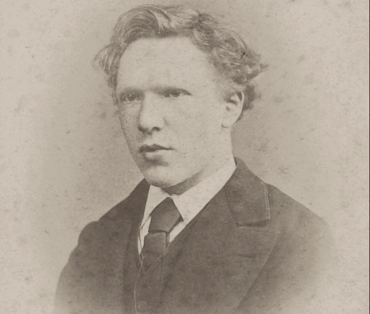 Vincent van gogh as a teenager