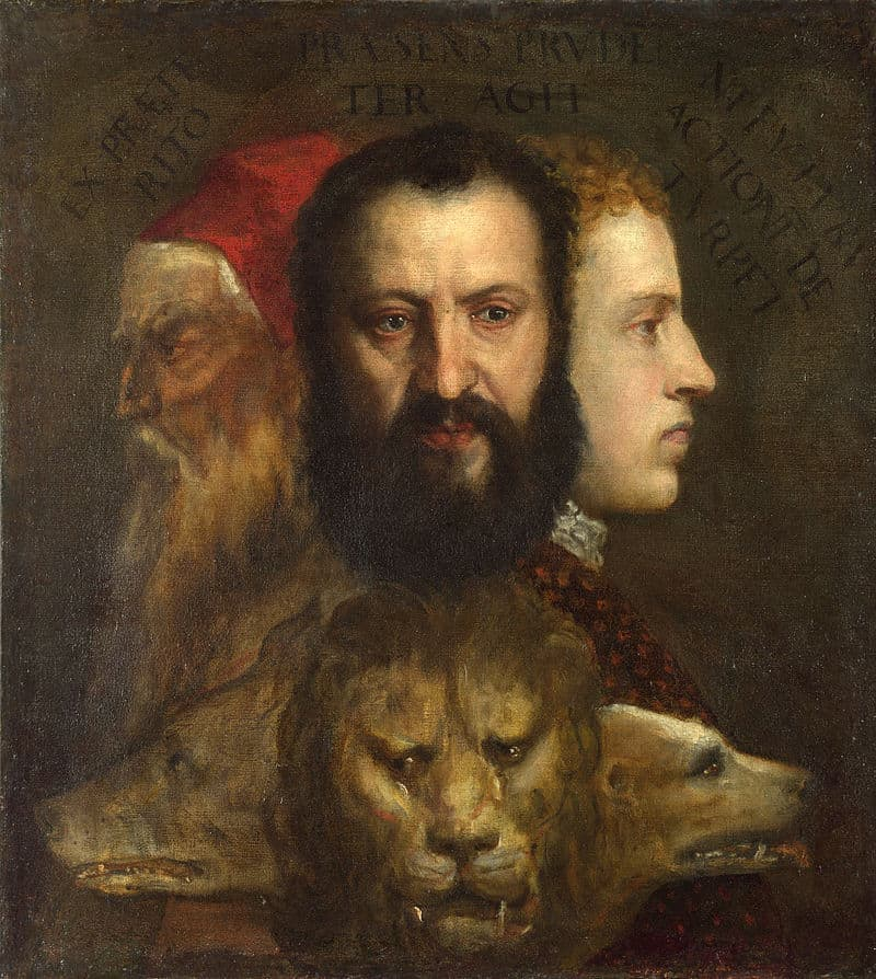 Allegory of Prudence by Titian