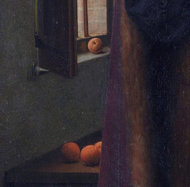 Arnolfini portrait oranges