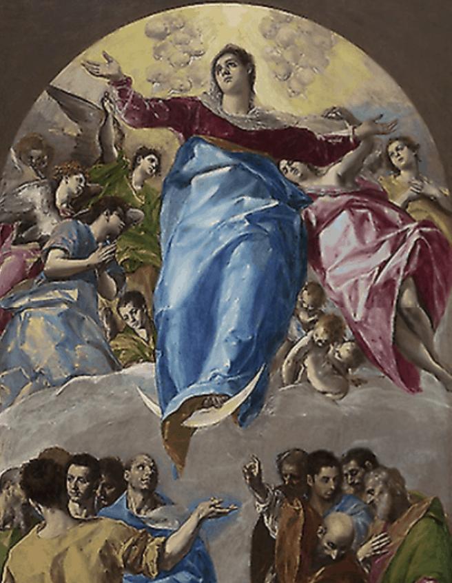 The Assumption of the Virgin El Greco