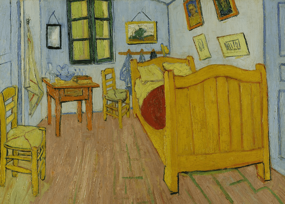 Facts about the Yellow house bedroom in Arles