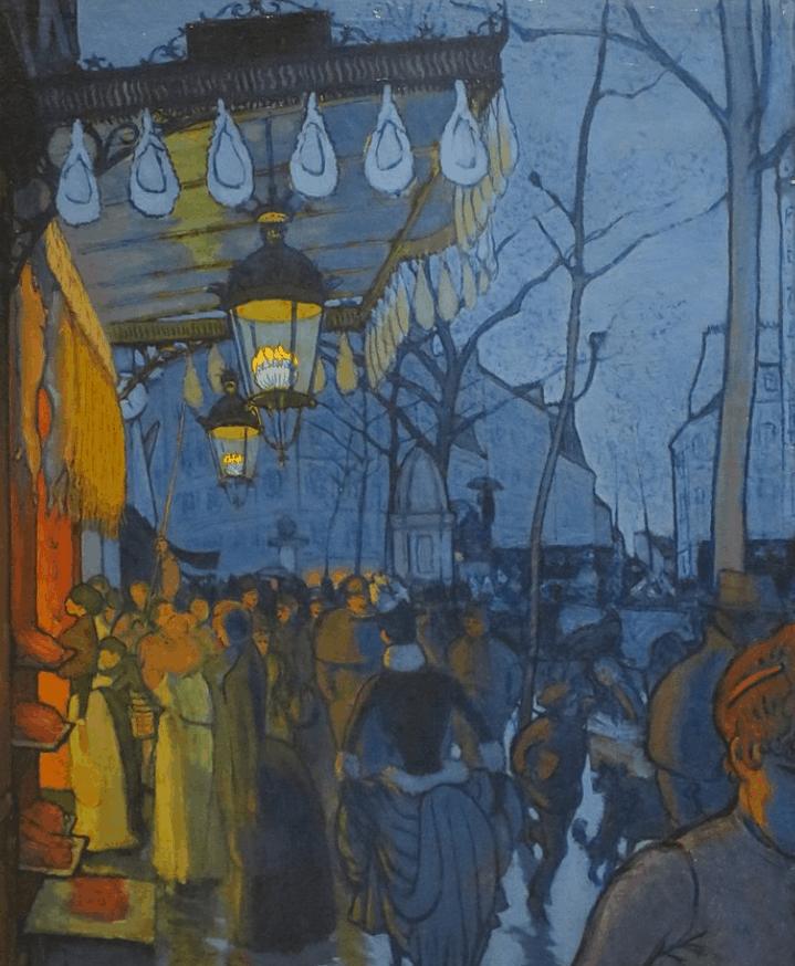 Avenue de Clichy: 5 o'clock in the evening