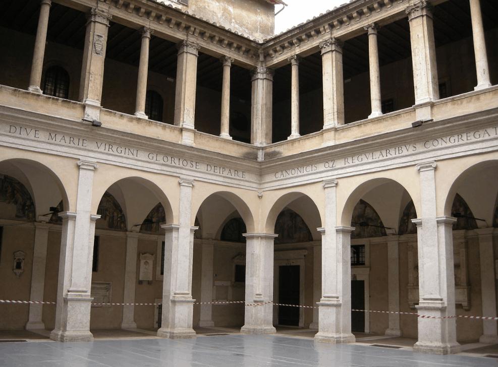Bramante's cloister