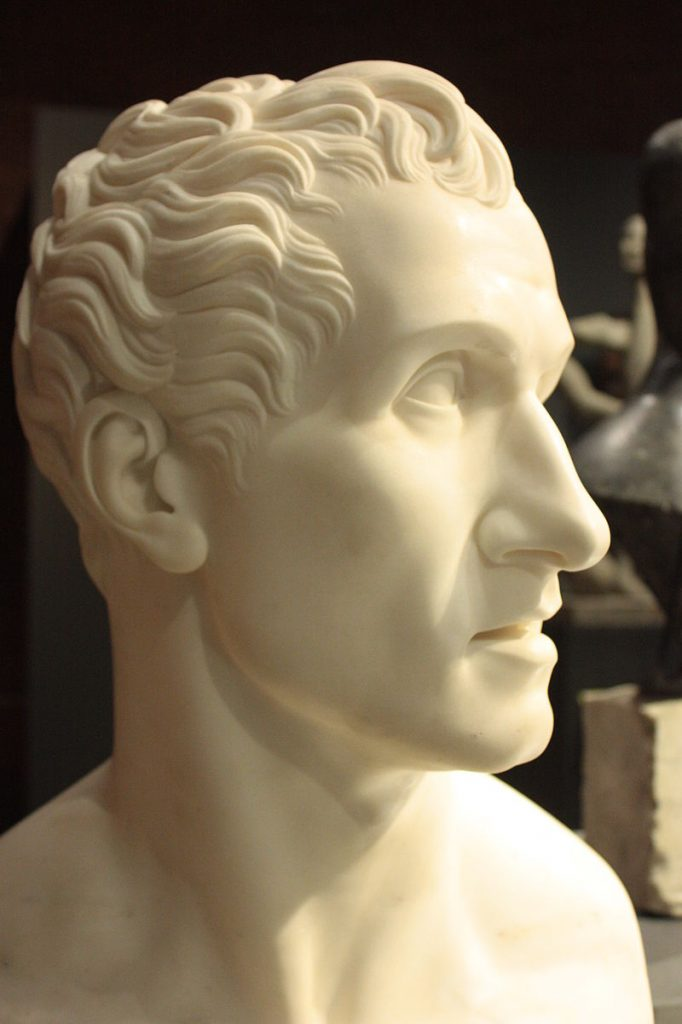 Bust of Antonio Canova in 1813