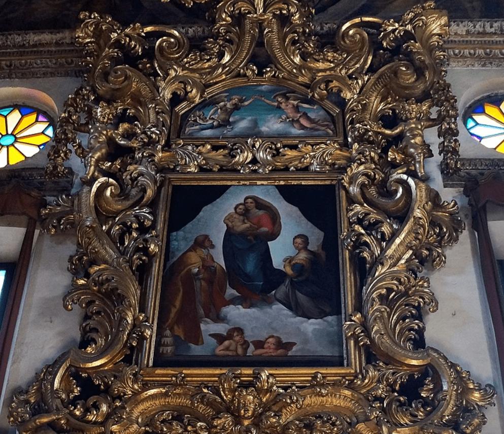 A Copy of the Sistine Madonna