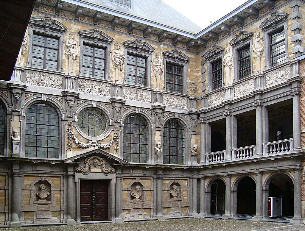 Courtyard of the Rubenshuis