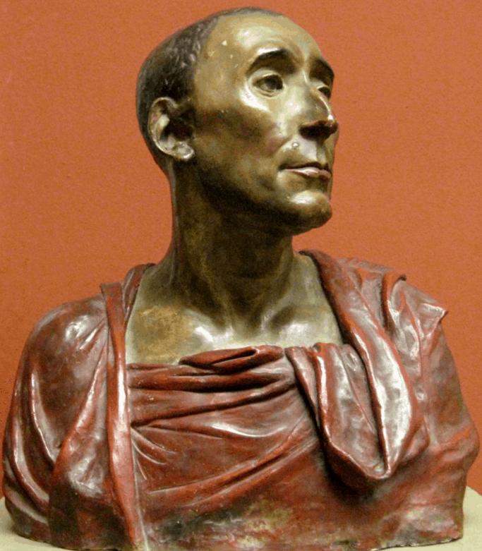 da Uzzano bust by Donatello