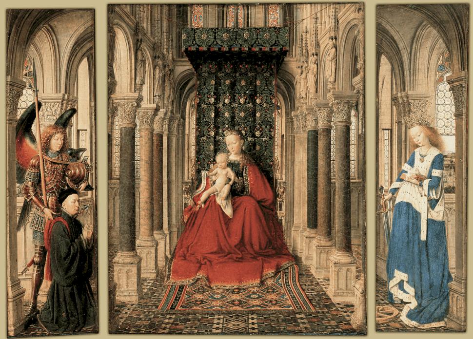 Dresden Altarpiece jan van eyck