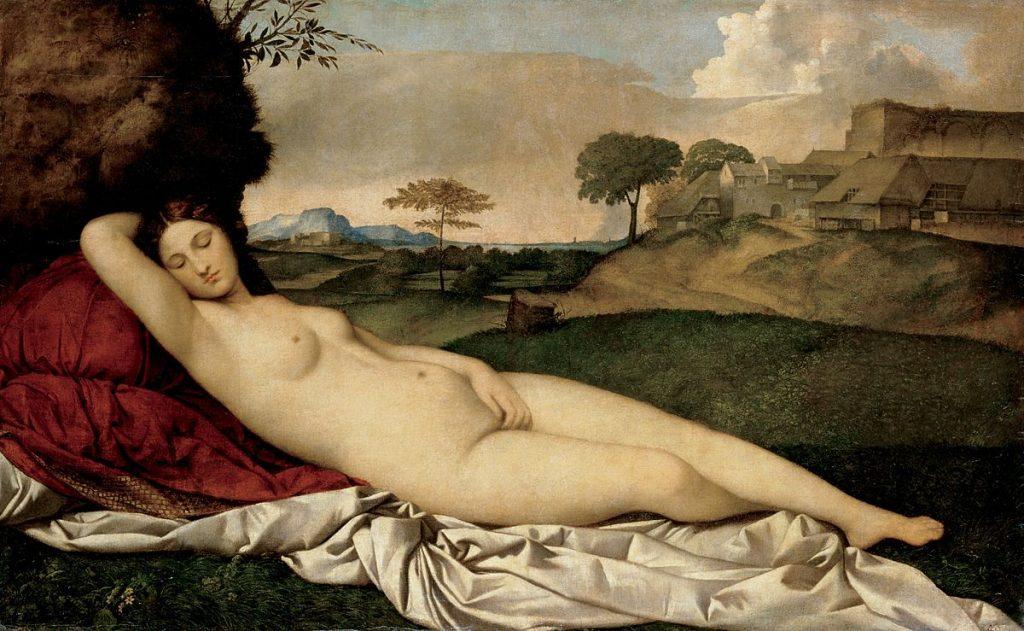Dresden Venus, the Influence of the Venus of Urbino by Titian