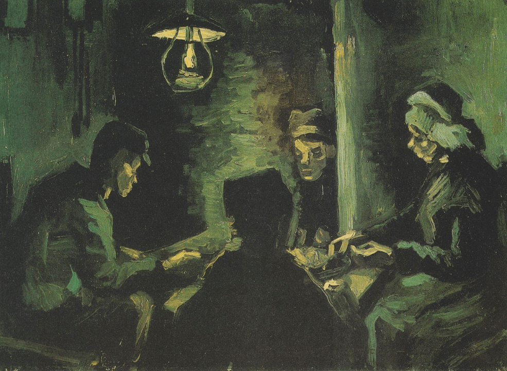 Early study of The Potato Eaters