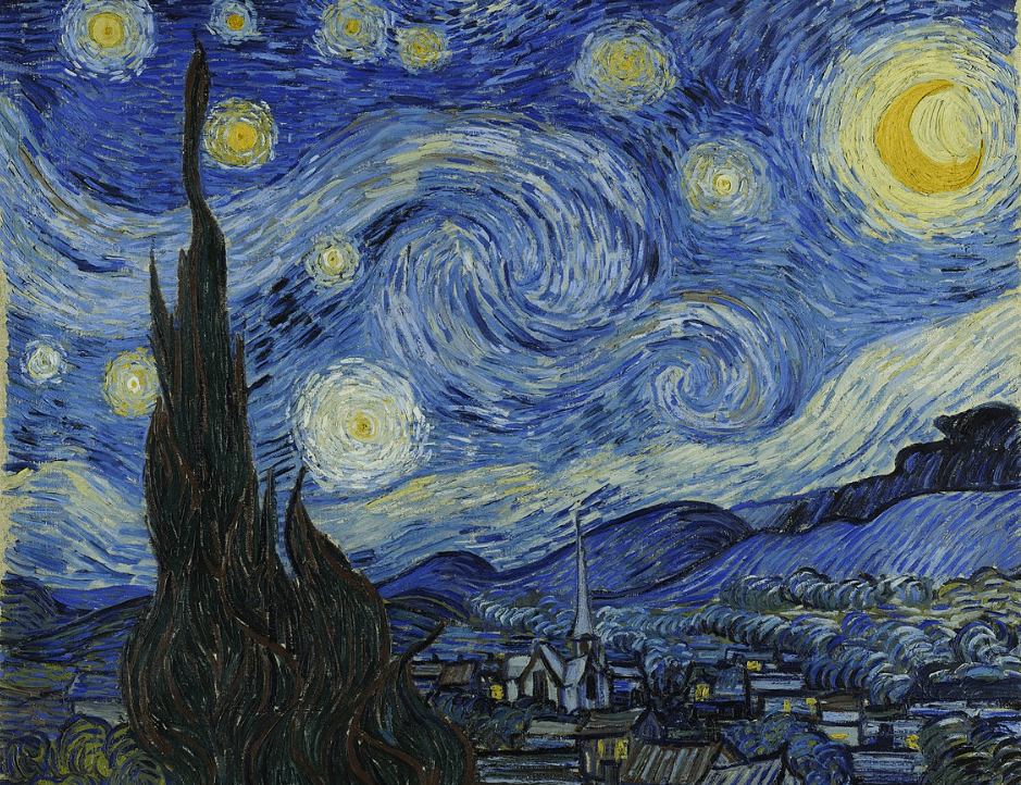famous vincent van gogh paintings starry night