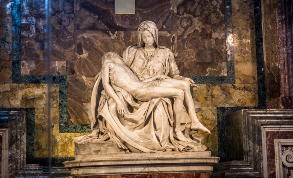 interesting facts about the Pietà