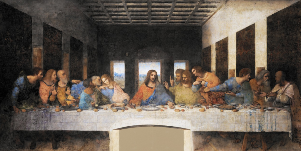 facts about the last supper painting