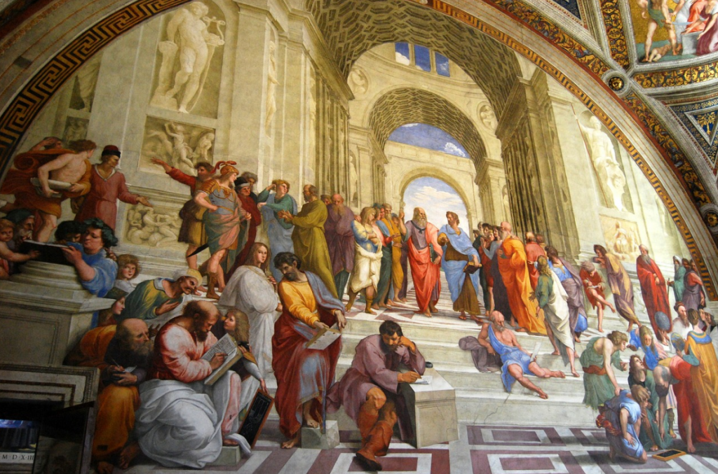 facts about the school of athens