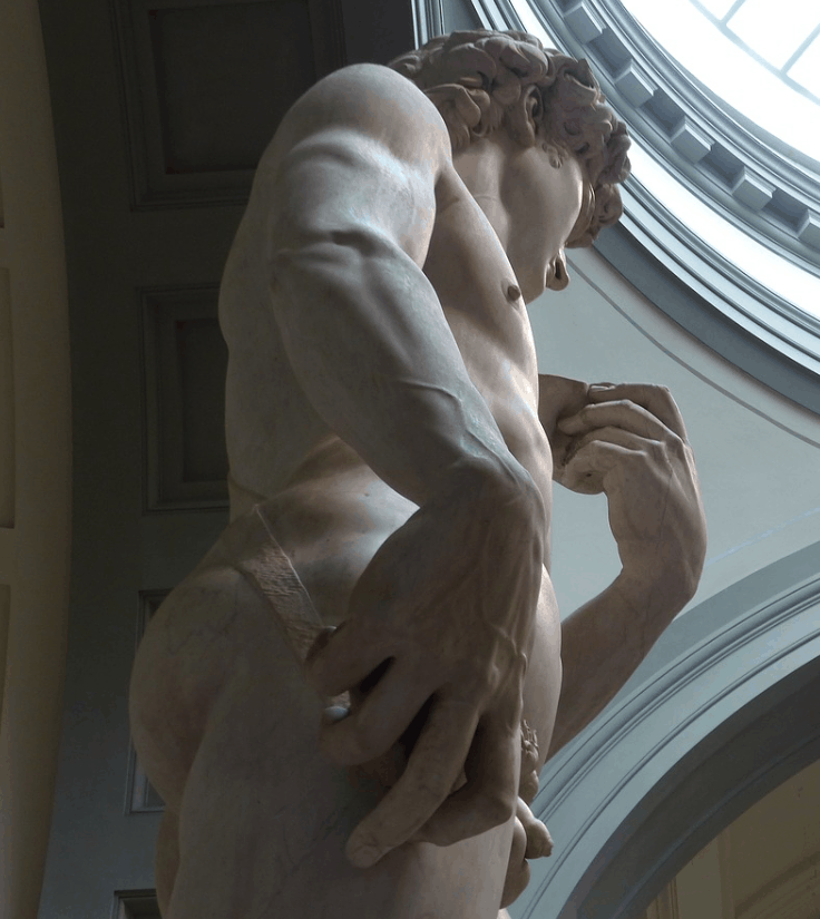facts about the statue of david interesting