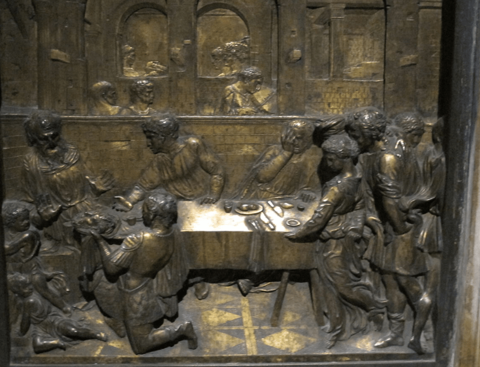 Feast of Herod by Donatello