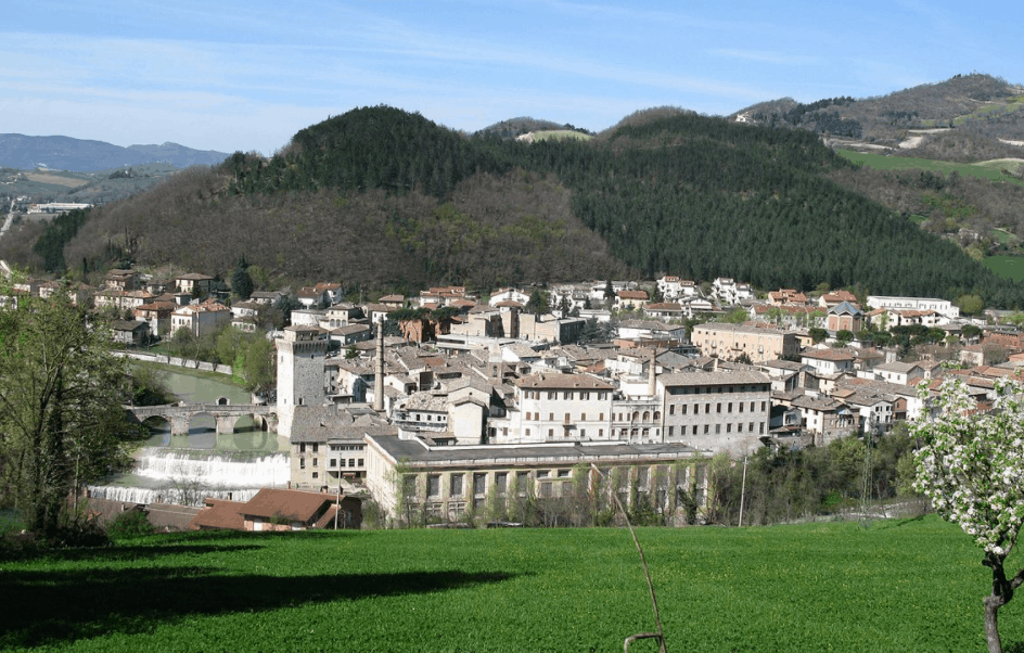 The town of Fermignano