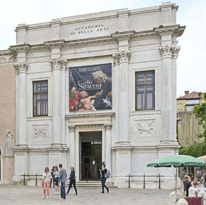 Museum where the Vitruvian man is located