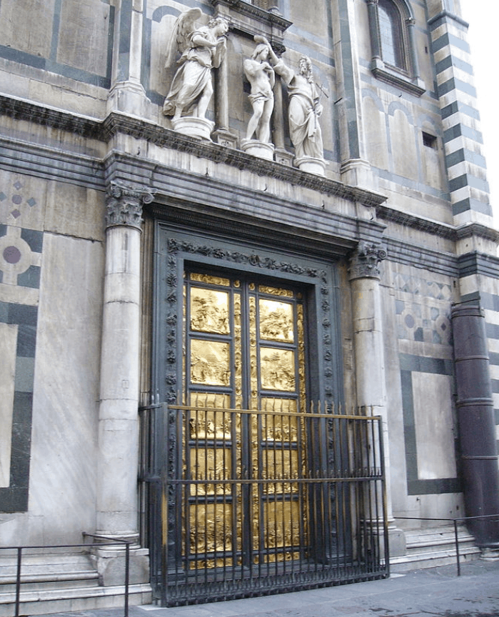 The gates of Paradise in Florence