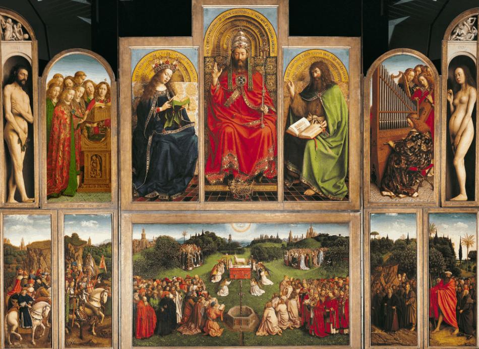 Ghent Altarpiece Most famous Jan van EYck Paintings
