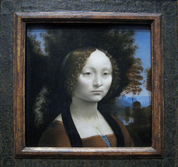 Ginevra de benci painting National Gallery of Art in Washington, D.C.
