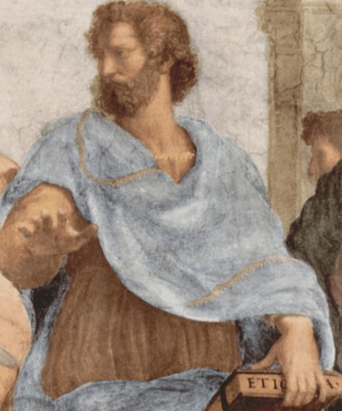 Giuliano da Sangallo as Aristotle