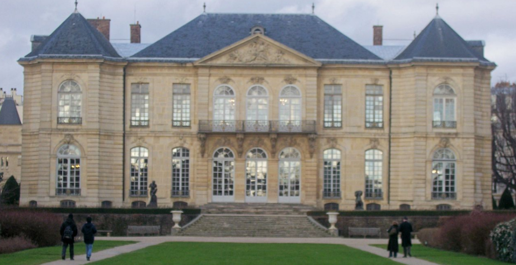 Hotel Biron now the Musée Rodin
