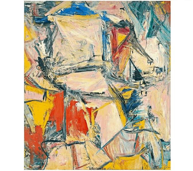 interchange painting willem de kooning Art Institute Of Chicago