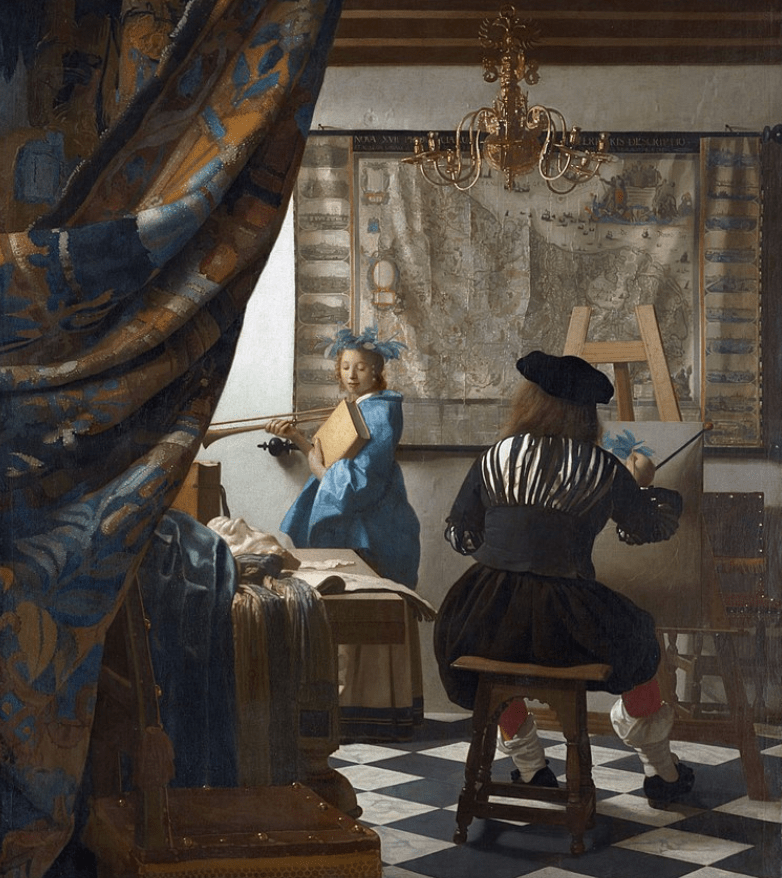 interesting facts about the art of painting